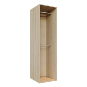 Wardrobe Doors carcass, fitting components -double-hang-500x2000-L