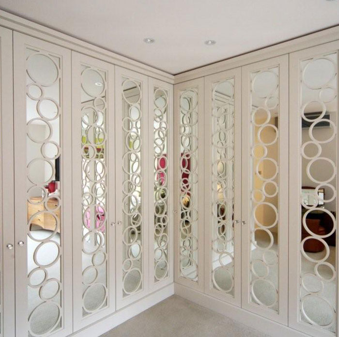 Just Wardrobe Doors - Bubble Wardrobe White