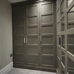 Shaker wardrobe door by Just wardrobe doors