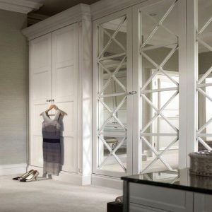 Regency-Wardrobe-2-fitted. Panelled and mirror.