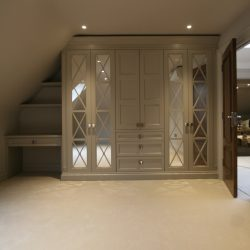 Ashley Homes Ascot, Regency mirrored design, Just wardrobe Doors.