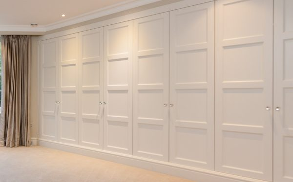 Fitted Wardrobes London, large bespoke panel size 500mm