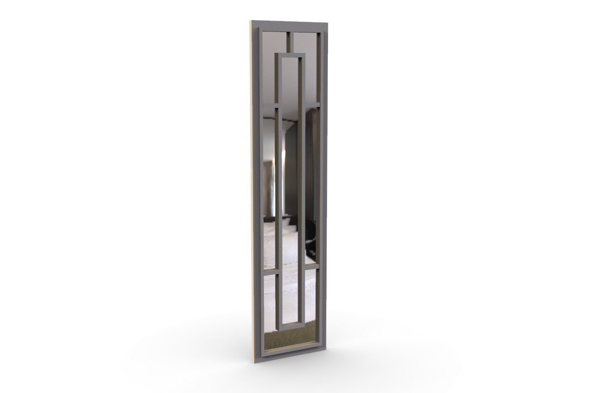 Belgravia Mirror Wardrobe Door Fret Work