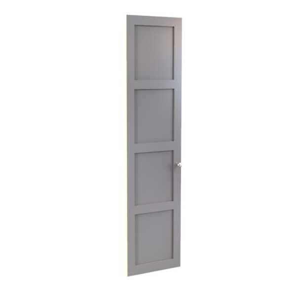 Shaker Panelled wardrobe door, 4 panels.