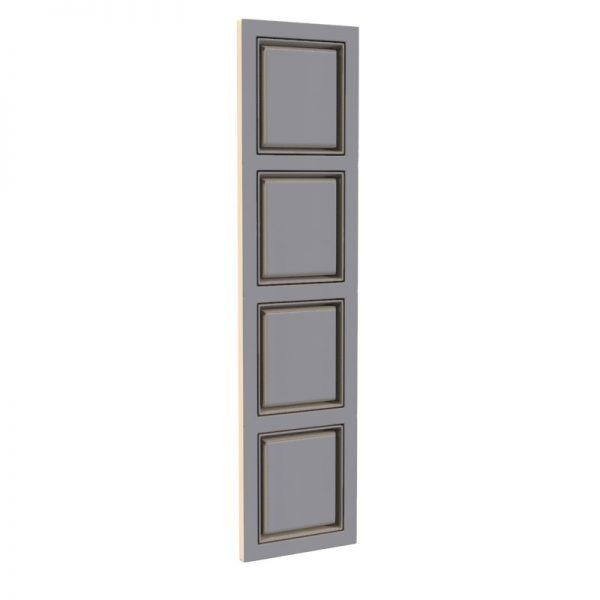 Winchester 4 panel door wardrobe Just Wardrobe doors supplies luxury wardrobe doors.