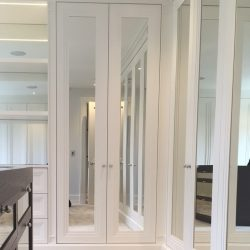 Large mirror white wardrobe Just wardrobe doors, bespoke wardrobe designs, made to measure sizes.
