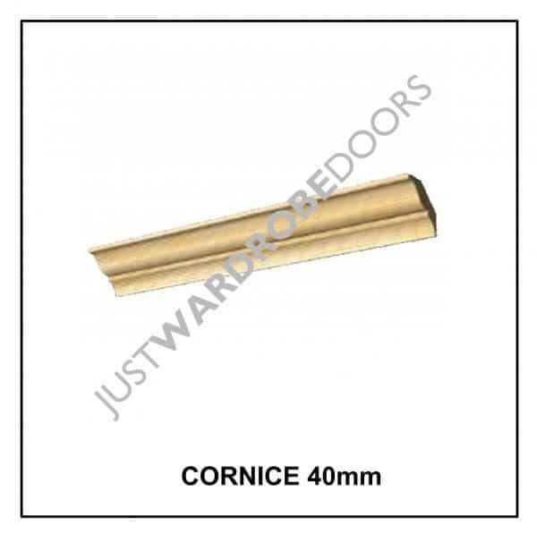 Luxury Wardrobe Cornice 40mm