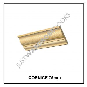 Luxury Wardrobe Cornice fitting component