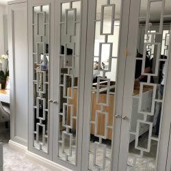 Hilton Mirror wardrobe doors Just wardrobe doors fitted wardrobes are perfect for giving that wow factor to you bed room.