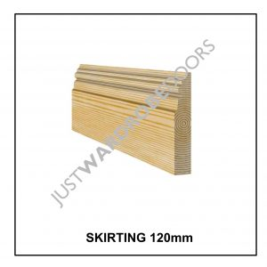 Fitted Wardrobe Skirting 120mm