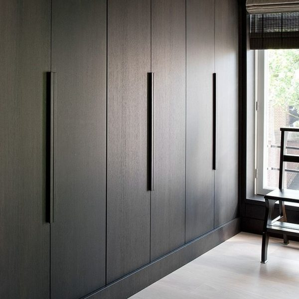 Fitted modern wardrobe doors at client's house.
