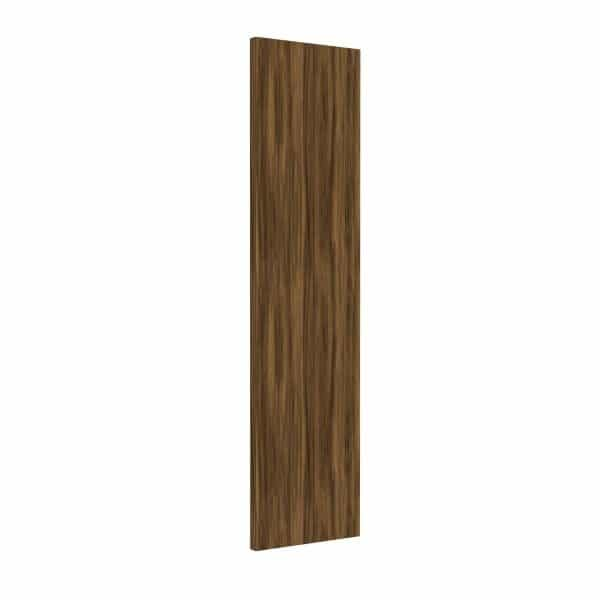 Modern burnt oak panelled wardrobe door.