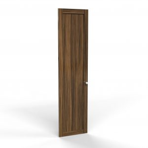 Burnt oak door with fret boarder Just Wardrobe doors supplies luxury wardrobe doors.