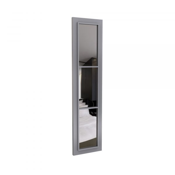 Bauhaus Wardrobe doors design, with mirror modern boxed fretwork