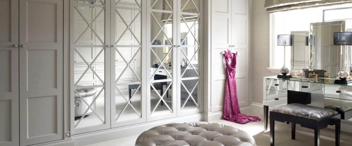 Savoy Mirror Large bespoke fitted luxury wardrobes